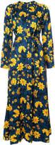 Altuzarra floral print button down dress
