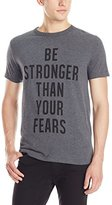 French Connection Men's Anthony Joshua Strong Than Your Fears T-Shirt