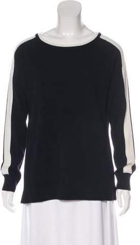 Gerard Darel Clarisse Wool-Blend Top w/ Tags