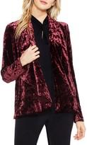 Vince Camuto Petite Women's Velvet Drape Collar Jacket