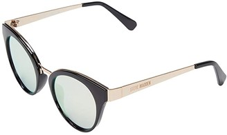 Steve Madden Bria (Black/Pink) Fashion Sunglasses