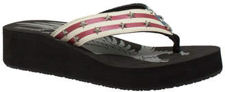 Women Us Flag Thong Sandal Women Shoes