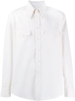 Lemaire Plain Long Sleeve Shirt
