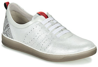 Dorking KAREN women's Shoes (Trainers) in Silver