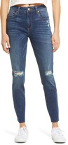 Thumbnail for your product : STS Blue Ellie Distressed High Waist Ankle Skinny Jeans
