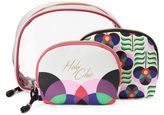 Tricoastal Design Tri-Coastal Design Domed Floral ''Holy Chic'' Cosmetic Case Set