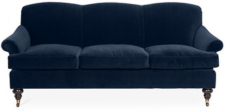 Kim Salmela Joplin Sofa - Indigo Velvet