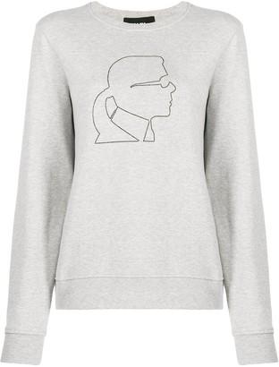 Karl Lagerfeld Paris Kameo sweatshirt