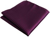 Shlax & Wing Shlax&Wing Handkerchief Dotty Hanky Pocket Square Mens Hankies