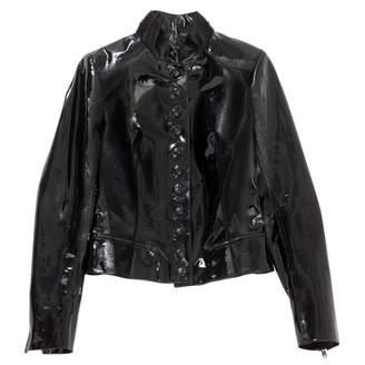 Alaia Black Leather Jackets