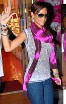 Cap Sleeve Burnout Crew Neck as seen on Rihanna