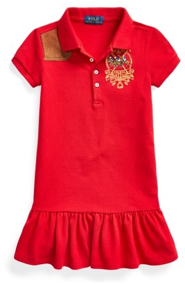 Ralph Lauren Polo Players Mesh Polo Dress