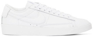 Nike White Blazer Low LE Sneakers