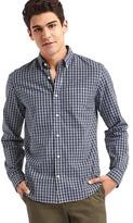 Gap True wash gingham standard fit shirt