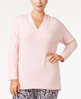 Alfani Plus Size V-Neck Pajama Top, Created for Macy's
