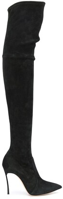Casadei Over-The-Knee Heeled Boots