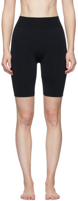 Wolford Black Perfect Fit Forming Biker Shorts