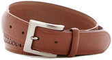 Tailorbyrd Center Laced Leather Belt