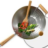 Tabletops Unlimited Infuse® 4-Piece Carbon Steel Wok Set
