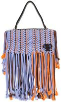 Emilio Pucci fringed trim bag - women - Leather/Polyester - One Size