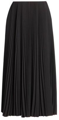 Balenciaga Plisse Pleated Skirt