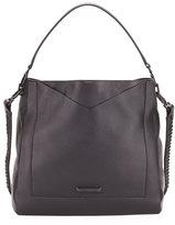 KENDALL + KYLIE Carina Pebbled Leather Hobo Bag