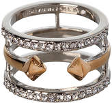 BCBGeneration Crystal & Two-Tone Pavé Ring