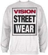 Vision Street Wear Vision Streetwear Logo Fleece Crew Neck Sweatshirt