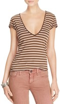 Free People Avery Striped Tee