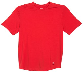 Topo Designs Wool Blend Long Sleeve T-Shirt (Size Large)
