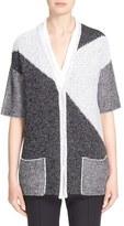 St. John Women's Colorblock Knit Cardigan