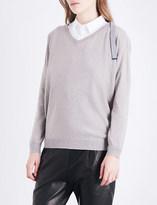 Brunello Cucinelli V-neck cashmere jumper