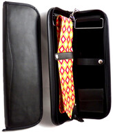 Bey-Berk Leather Travel Tie Case