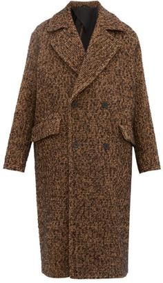 Raey Double-breasted Wool-blend Coat - Mens - Orange