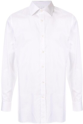 Gieves & Hawkes Long Sleeved Cotton Shirt