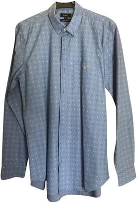 Gant Blue Cotton Shirts