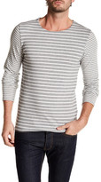 Scotch & Soda Long Sleeve Stripe Knit T-Shirt