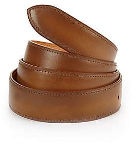 Corthay Men's Old Wood Patina Leather Belt