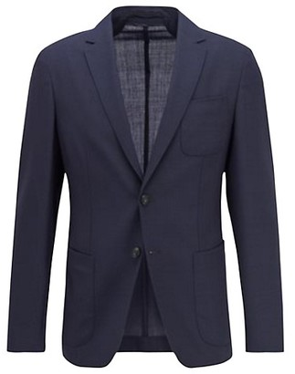 HUGO BOSS Slim-Fit Nolvay Patch Pocket Suit Jacket