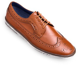 MIO Marino Round Toe Casual Brogue Design Dress Shoes for Men