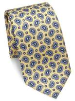 Brioni Paisley Patterned Silk Tie
