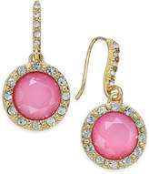 INC International Concepts Gold-Tone Stone and Crystal Drop Earrings, Created for Macy's