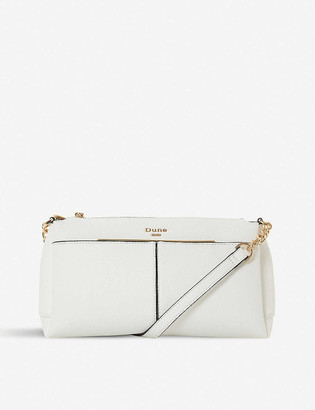 Dune Dornea faux-leather cross-body bag