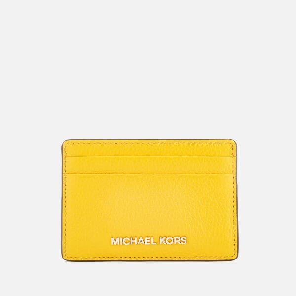 MICHAEL Michael Kors Women's Mercer Pebble Card Holder - Sunflower