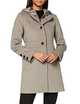 Esprit Women's 099eo1g032 Hoodie Coat,Small