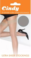 Cindy Womens/Ladies 10 Denier Ultra Sheer Stockings (1 Pair)
