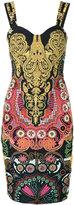 Class Roberto Cavalli printed dress - women - Cotton/Polyamide/Polyester/Spandex/Elastane - 38