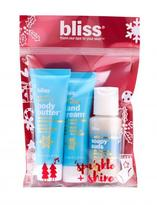 Bliss 'scent' With Love Vanilla Snowflake Travel-Size Trio