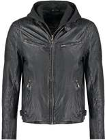 Gipsy Riley Leather Jacket Schwarz