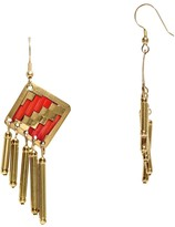 Mela Artisans Lolita in Coral Gold Earrings, Small